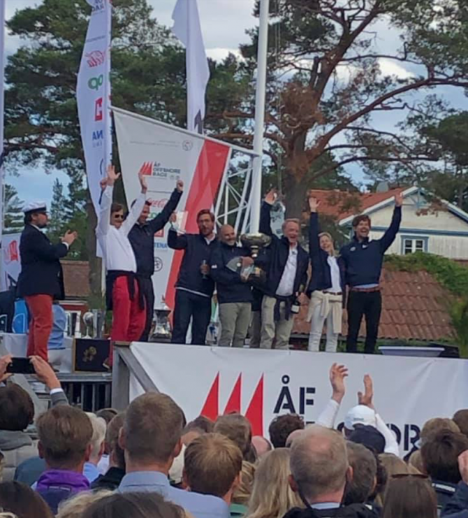 Matador Wins in Round Gotland Race 2019