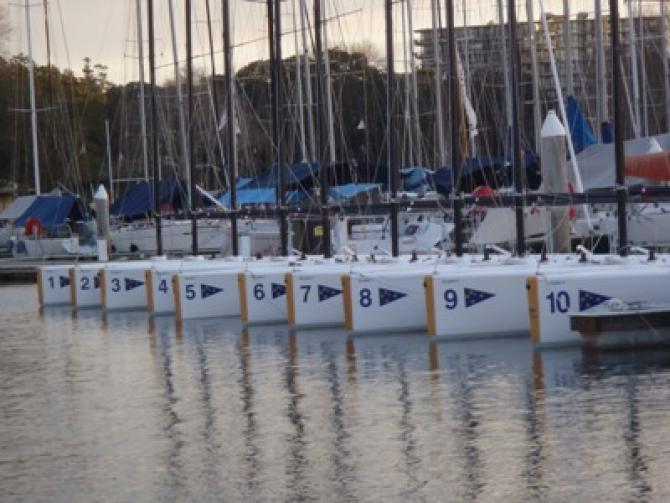 Elliott Fleet Launched at the CYCA