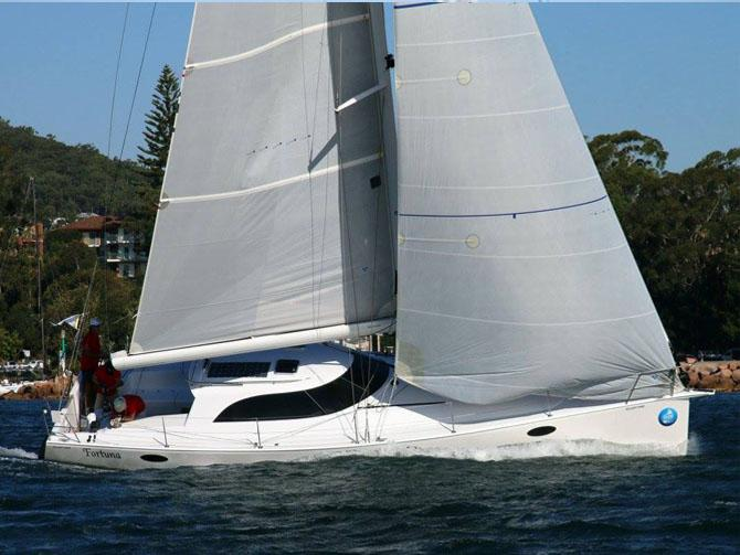 Fortuna Cruises into Second at Sail Port Stephens