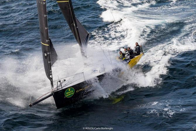 Crew of Elliott 35 Footer Recount Rolex Middle Sea Race