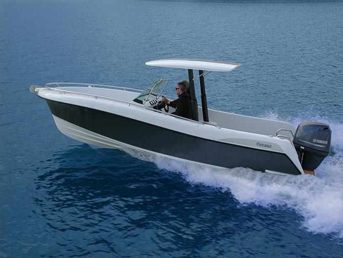 Powerboat Innovation The EVO 660   Freddy Foote talks to designer Greg Elliott