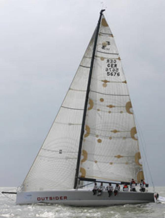 Hansen wins Trans Atlantic Race
