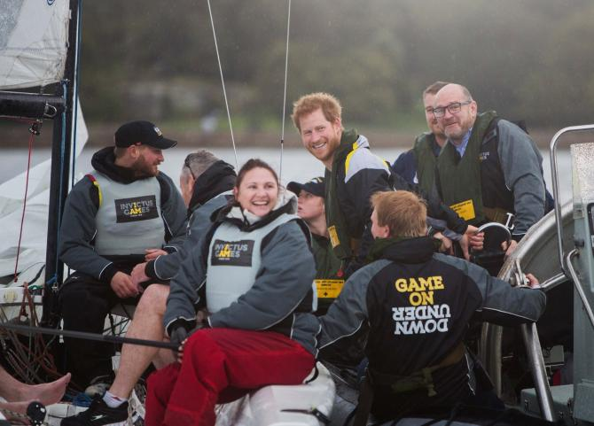 Elliott 7 for Invictus Games