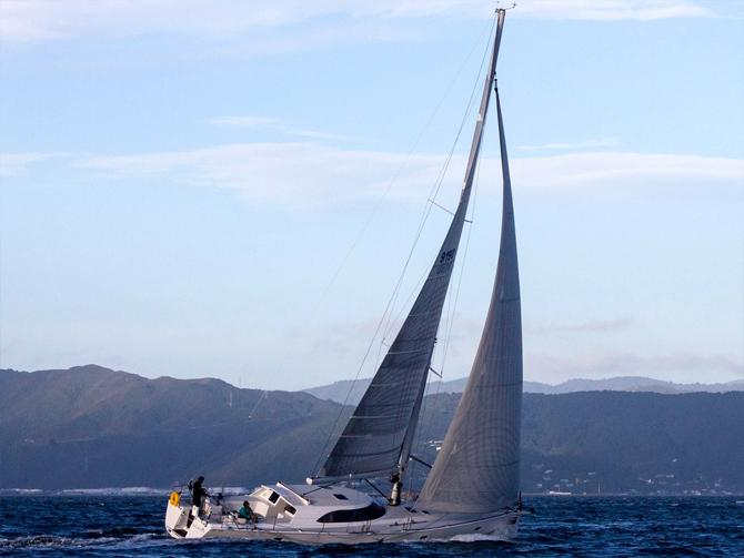 Elliott 50 RanTan Leads fleet round the North Island