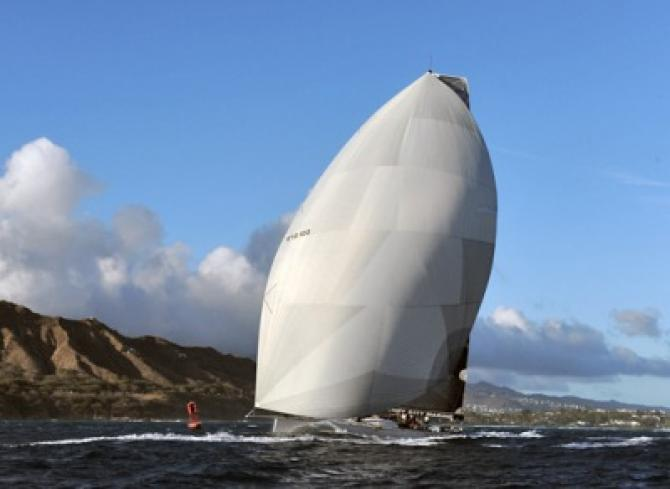 Raggamuffin fastest monohull in Transpac 2013